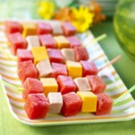 watermelon kabobs