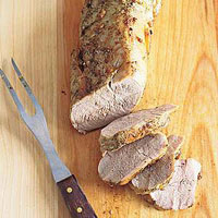 pork tenderloin roasted