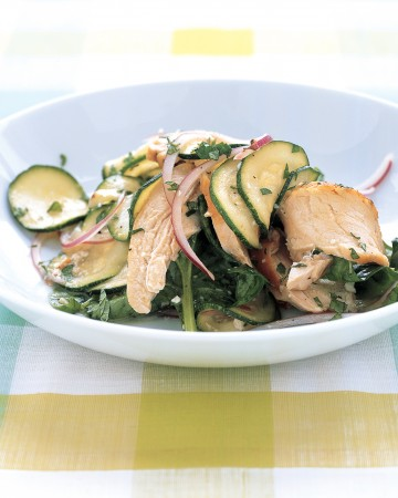 salad zucchini and chicken