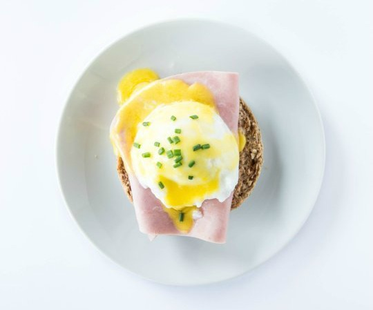 breakfast quickie eggs benedict