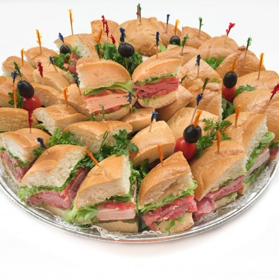 Large Assortment of sandwiches