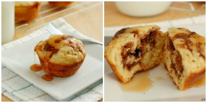 collage pancake muffins