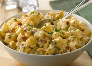 potato and bacon salad