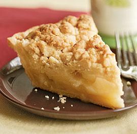 apple pie crumb
