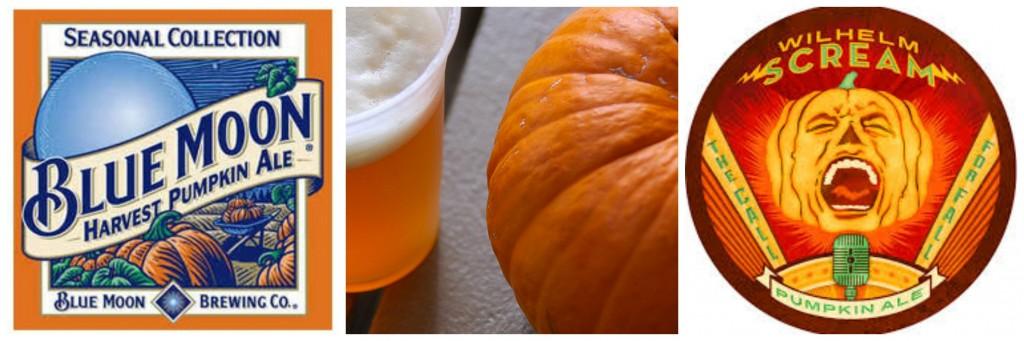 collage pumpkin beers