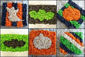 rice krispy treat halloween