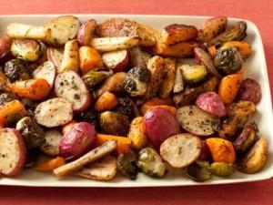 vegetables roasted