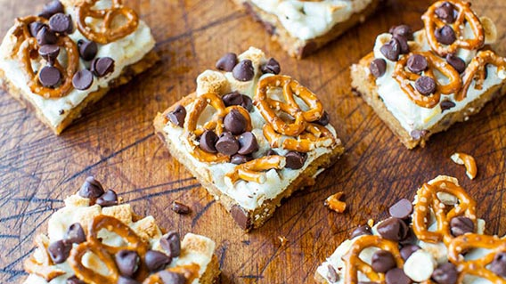 cookies choc chip marshmellow pretzel