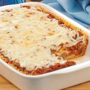 casserole meatball lasagna