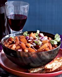 chili winter vegetables