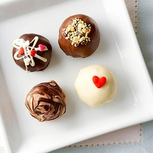 dessert no bake truffle treats