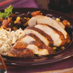chicken black bean rice