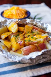 Potato chessy grilled