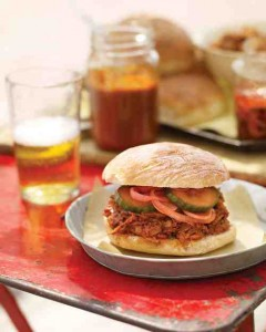 pork pulled sandwich