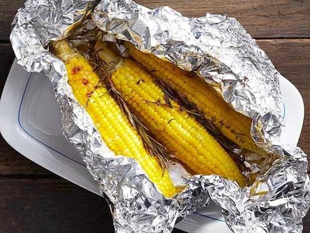 corn grill foil packet