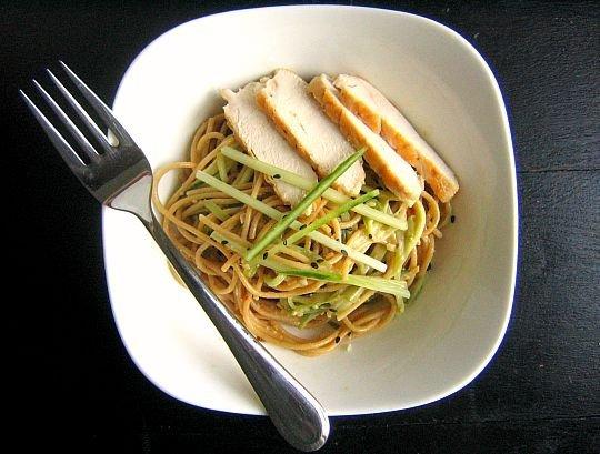 noodles cold peanut sesame