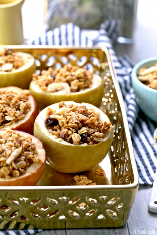 apples baked granola 2