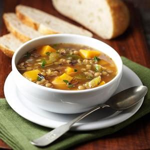 stew butternut squash lentil wild rice