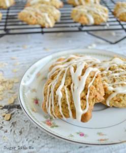 cookies Apple butterscotch Oatmeal iced