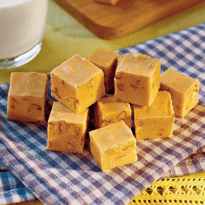 fudge pumpkin